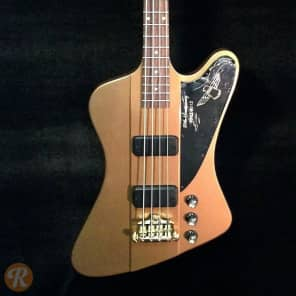 Gibson 50th Anniversary Thunderbird Bullion Gold 2013