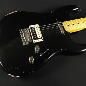 Fender Custom Shop Limited Edition H/S Stratocaster Relic - Aged Black (955) for sale