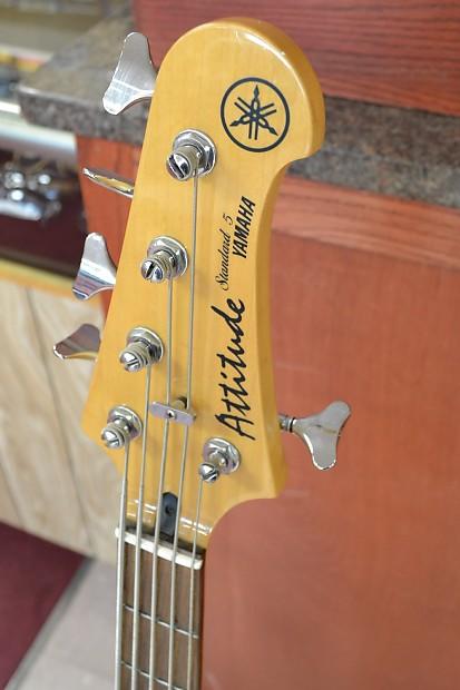 Pawn Shop Austin >> Yamaha Attitude Standard 5 5-String Bass Guitar | Reverb