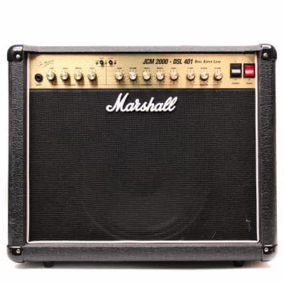"Marshall JCM 2000 DSL 401 Dual Super Lead 2-Channel 40-Watt 1x12"" Guitar Combo"