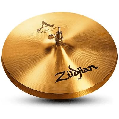 """Zildjian 14"""" A Series Quick Beat Hi-Hat Cymbal (Top)"""