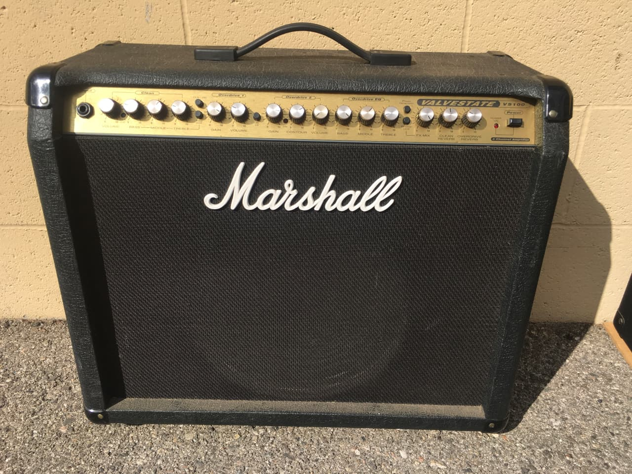 marshall valvestate vs 100 combo guitar amp reverb. Black Bedroom Furniture Sets. Home Design Ideas