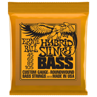 Ernie Ball Nickel RoundWound Hybrid Slinky Bass Strings