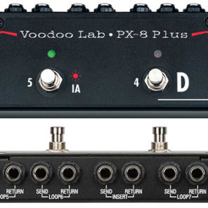 Voodoo Lab Pedal Switcher PX-8 Plus for sale