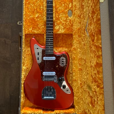 Fender Custom Shop Jaguar 2019 Candy Apple Red Journeyman