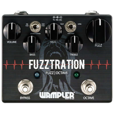 Wampler Fuzztration + Octave Pedal