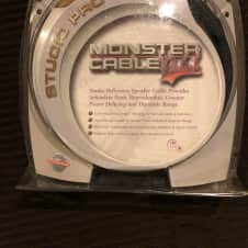 "Monster Cable  Prolink Studio Pro 1000 10"" 1/4"" speaker cable"
