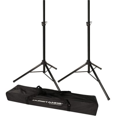 Ultimate Support JS-TS50-2 Pair of Tripod Speaker Stands With FREE Carry Bag !