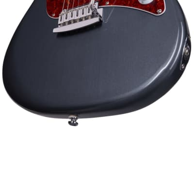 Sterling by Music Man Cutlass SSS Charcoal Frost Electric Guitar for sale