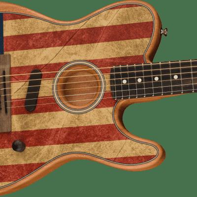 Fender American Acoustasonic Telecaster - American Flag