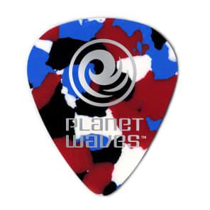 D'Addario 1CMC6-10 Celluloid Guitar Picks  - Heavy (10-Pack)