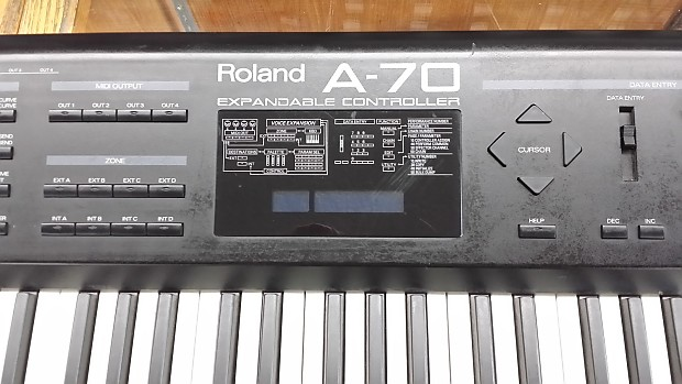 Roland A-70 Expandable Controller Drivers Windows