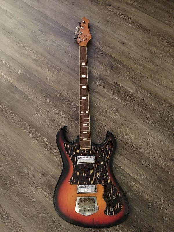 kawai bass guitar vintage japan bass 1960s solid reverb. Black Bedroom Furniture Sets. Home Design Ideas