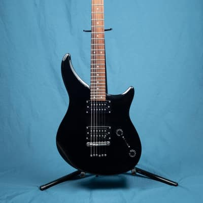 Epiphone EM-1 Black guitar with hard case for sale