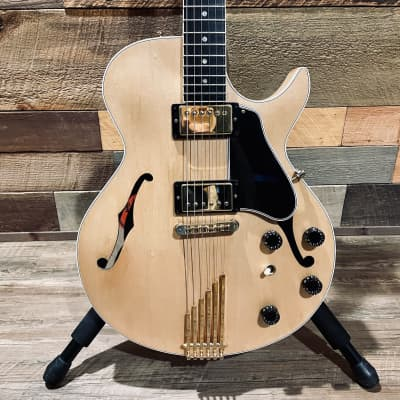2005 Gibson Howard Roberts Fusion III - NATURAL/GOLD - OHSC, 490s & Extra Parts for sale