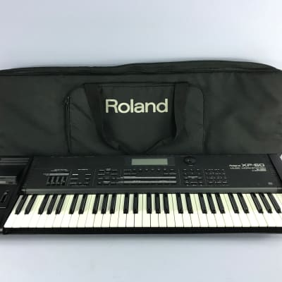 Classic Roland XP-60 XP 60 61-Keys Music Workstation Synthesizer + Bag