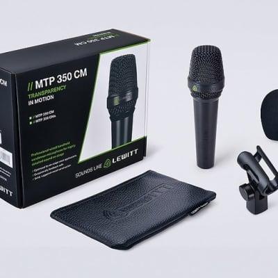 Lewitt MTP350 CM Hand Held Condenser Microphone - Bstock