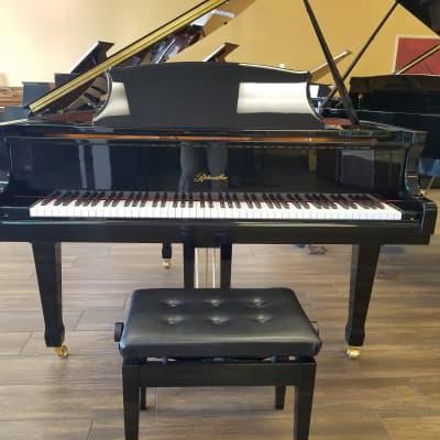 Ritmuller R8 4'11 Baby Grand Piano Ebony Polish
