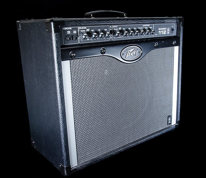 peavey bandit 112 80w 1x12 guitar combo amplifier reverb. Black Bedroom Furniture Sets. Home Design Ideas