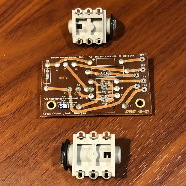 BC108 Fuzz Face PCB - JH-F1 Dallas Arbiter Dunlop Jimi Hendrix Circuit on