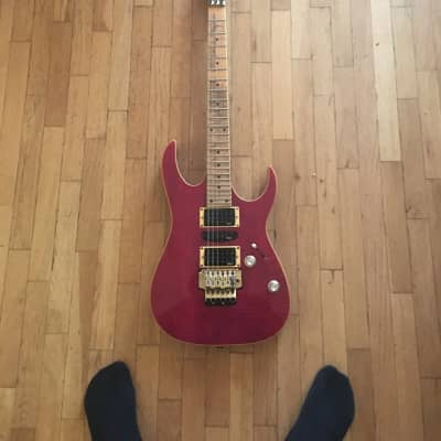 Ibanez Ex3700 1993/1994 Translucent red for sale