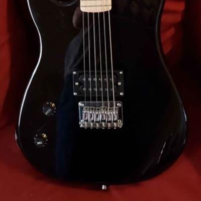 Davison 235 Black Left-Handed Single Pick-up Electric Guitar for sale