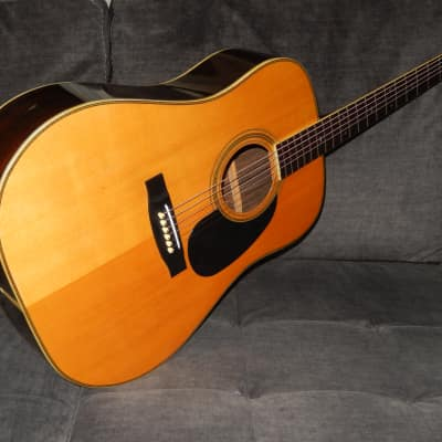 "MADE BY ZEN-ON GAKKI  ""MORALES CUSTOM"" - GREAT MARTIN D28 STYLE ACOUSTIC GUITAR"