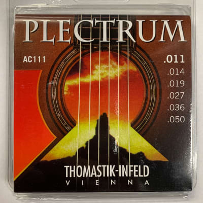 Thomastik Plectrum Hybrid Acoustic Guitar Strings, Light, 11-50