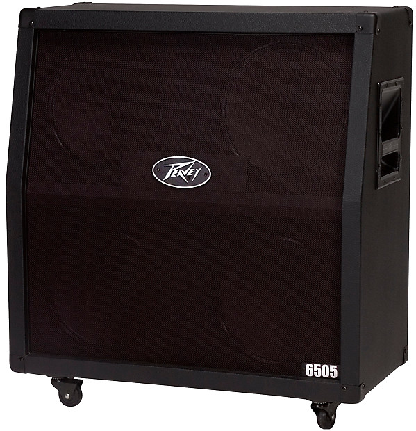 peavey 6505 412 slant cabinet guitar amplifier w heavy duty reverb. Black Bedroom Furniture Sets. Home Design Ideas