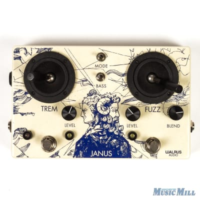 Walrus Janus Tremolo / Fuzz with Joystick Control Effect Pedal (USED) for sale