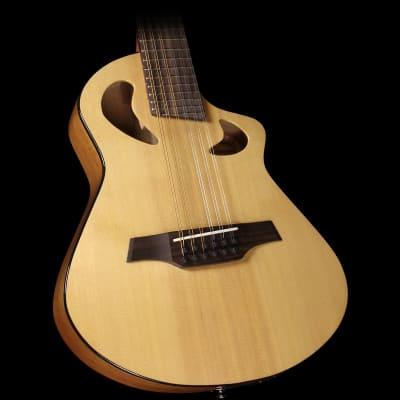 Avante by Veillette Gryphon Short Scale Acoustic-Electric Guitar Natural image