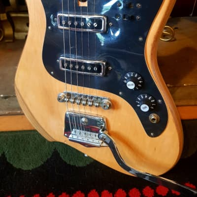 Audition 7002 MIJ Teisco Solid Body, 1964, Natural, Original Parts for sale