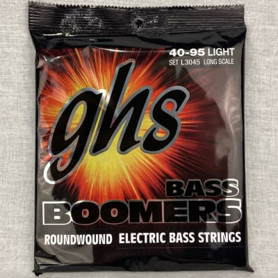 GHS L3045 Boomers Long Scale Bass Strings - Medium (40-95)