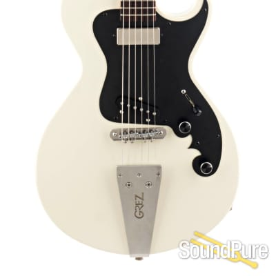 Grez Guitars The Folsom Light Creme Electric Guitar #1908A for sale