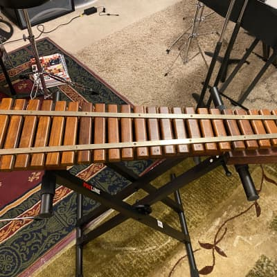 Patent 1919 Vintage Deagan Xylophone A435 - 24 Rosewood Bars Coin Op Nickelodeon Theatre Organ Part