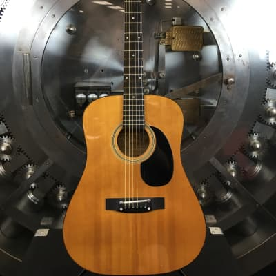 Castilla Vintage Acoustic Guitar w/ Chipboard Case for sale