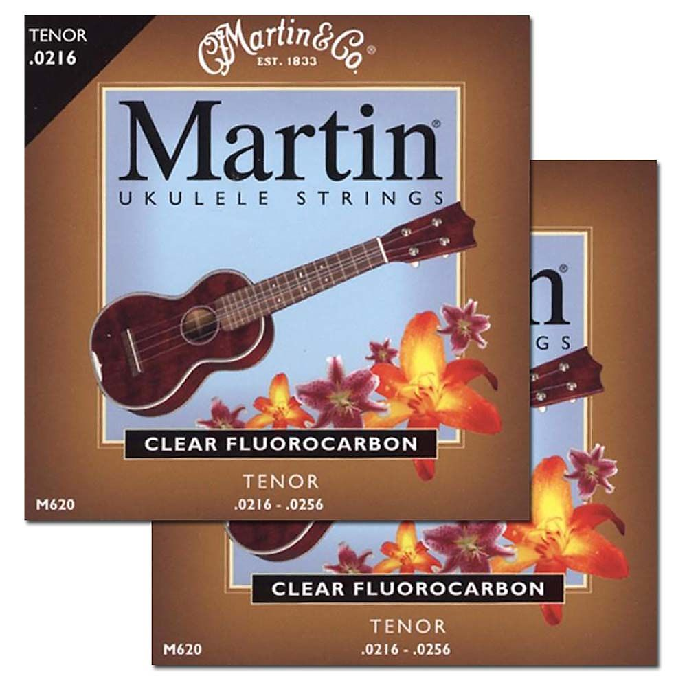 Brand new Martin M620 tenor ukulele strings 2-pack special