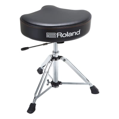 Roland RDT-SHV Drum Throne with Vinyl Saddle Seat 2020