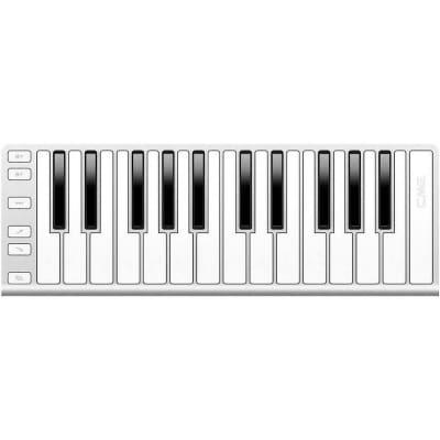 CME Xkey 25-key Midi Keyboard Controller Silver