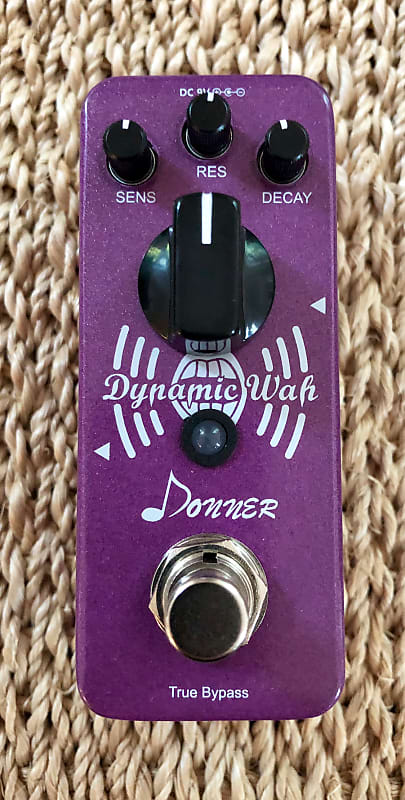 Donner Dynamic Auto Wah Envelope Filter Mini Guitar Pedal Reverb