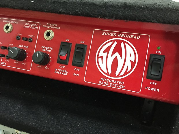 Sex pics swr super redhead bass amplifier combo guy