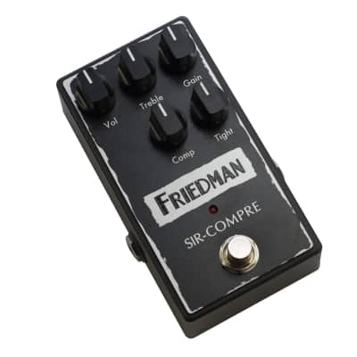 Friedman Sir-Compre Compressor/Overdrive Guitar Effects Pedal for sale