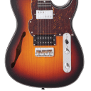 Fret-King FKV2HOCB Country Squire Semitone   Original Classic Burst
