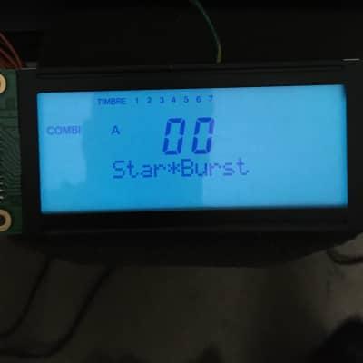 Korg X3,N364 display