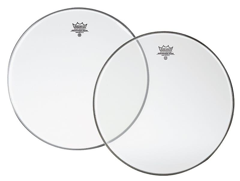 Remo SA0115-00 Hazy Ambassador Snare Drum Head 15-Inch