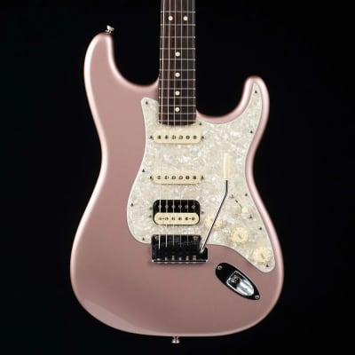 Fender Limited Edition American Professional Stratocaster HSS Shawbucker with Rosewood Neck Rose Gold 2019