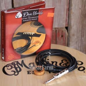 Dean Markley DM3000 Artist Transducer Acoustic Guitar Pickup
