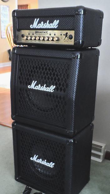 marshall dave mustaine megastack mg15fxmsdm mini stack angled reverb. Black Bedroom Furniture Sets. Home Design Ideas