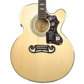 Epiphone EJ-200SCE Southern Jumbo Acoustic/Electric Guitar Natural