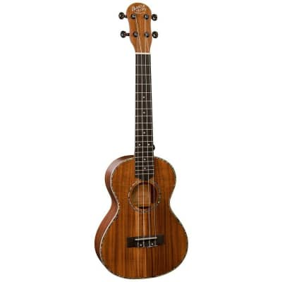 Barnes & Mullins BMUK7T , Tenor Ukulele, Satin Koa Wood, Aquila 'Nylgut' Strings for sale